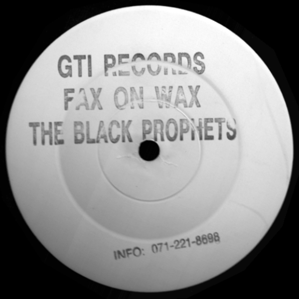 Fax On Wax - Blak Prophetz