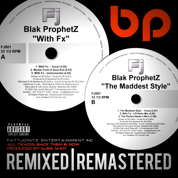 With Fx/Maddest Style by Blak Prophetz (M.Duffus)